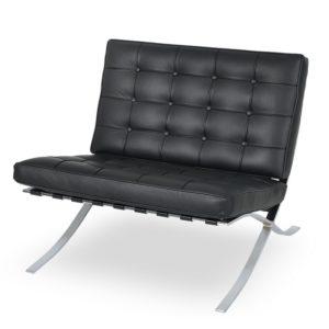 barcelona chair, leather chair, accent chair, modern chair